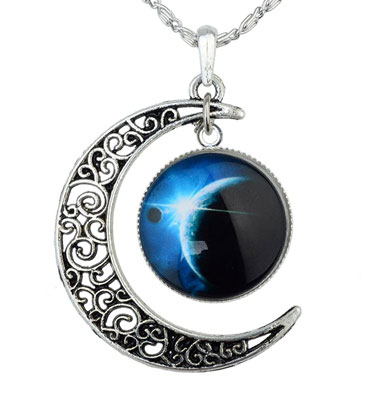 Cabochon Pendant Necklace Christmas Gift