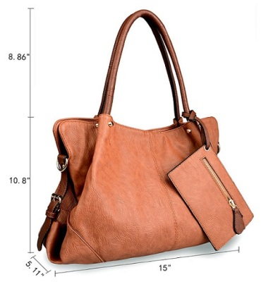 Brown Leather Tote Bags For Women