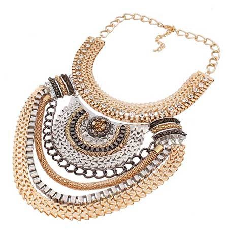 choker statement collar necklace