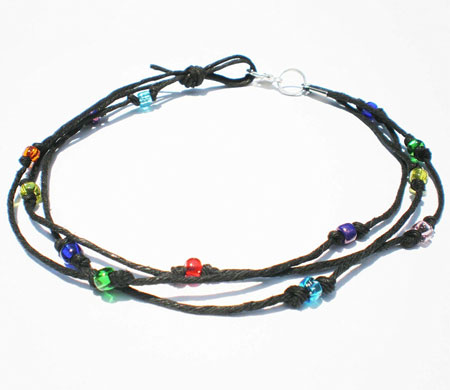 handmade anklets for women