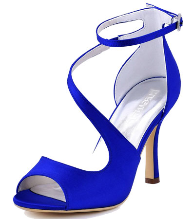 womens royal blue shoes