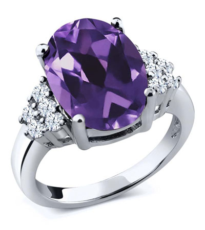 Beautiful gemstone rings for womens