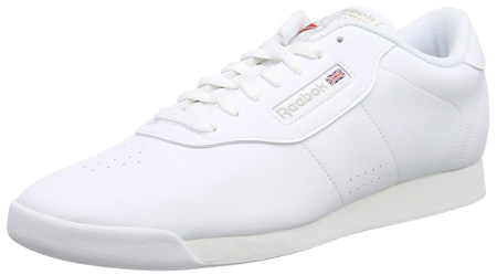Reebok Women's Princess Sneaker white shoes