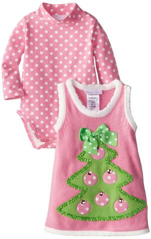 Baby girls Christmas sweater jumper