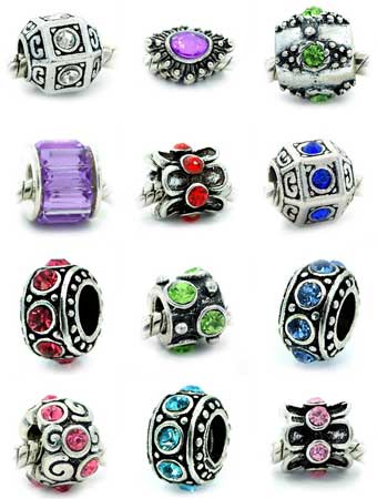 crystal rhinestone bead