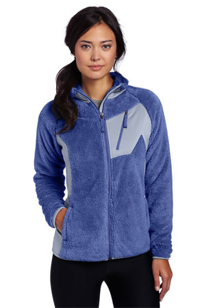 columbia womens double plush sporty full zip jacket