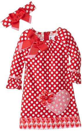 little girls print dress