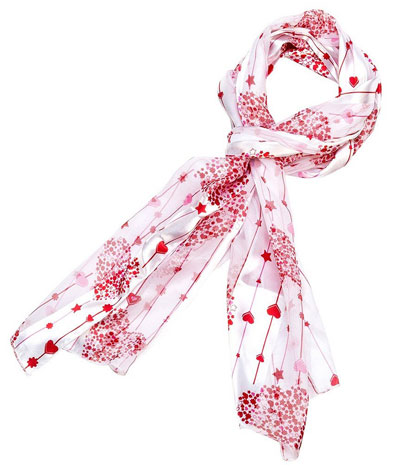 valentines day scarf