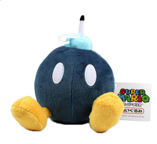 Bob-omb Soft Stuffed Plush Super Mario Plush Series Plush puppet Doll Japanese