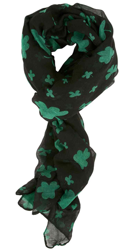 St. Patricks Day Scarf