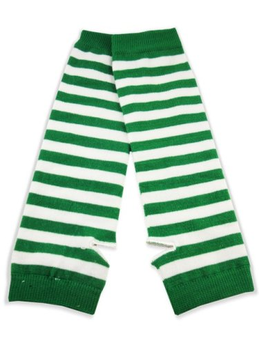 green arm warmers
