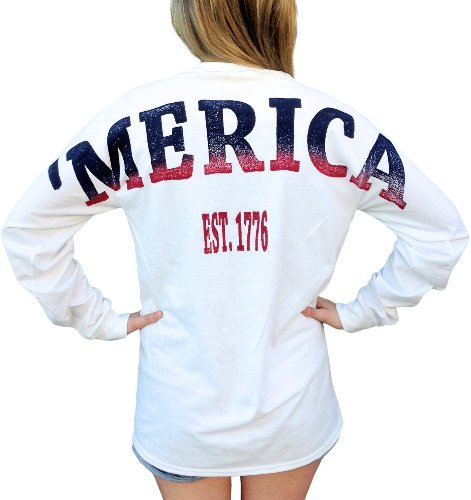 Merica X Comfort Colors Stadium Jersey USA T Shirt