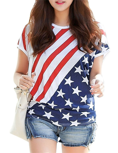 Shop for American Flag Women's Clothing, shirts, hoodies, and pajamas with thousands of designs to choose from and high quality printing.