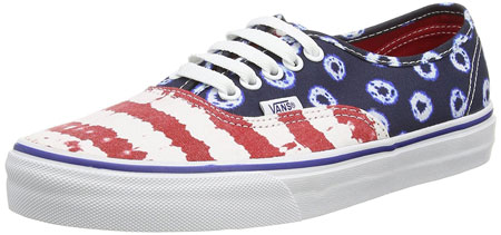 American flag canvas sneakers 02