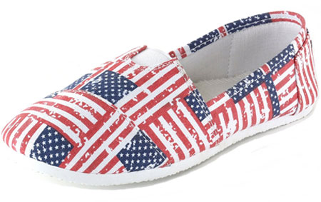 American flag canvas sneakers 03