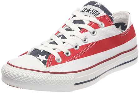 American flag canvas sneakers 04