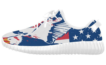 American flag canvas sneakers 07