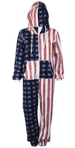 american flag jumpsuit