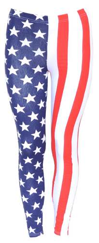 american flag leggings pants