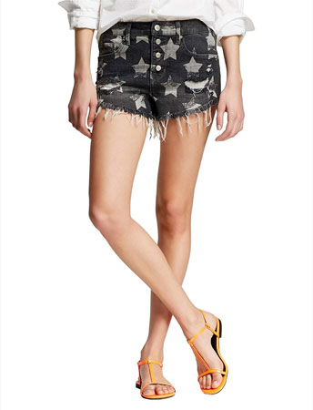 women fourth of july shorts