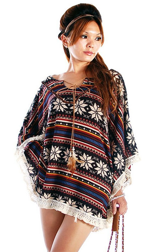 native american poncho