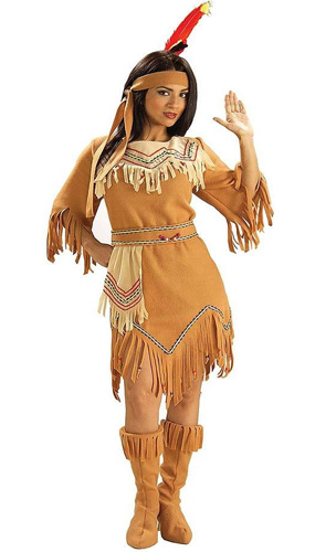 women Native American costume