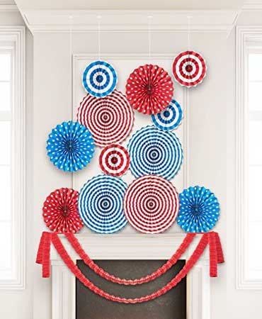 how to decorate for 4th of July party