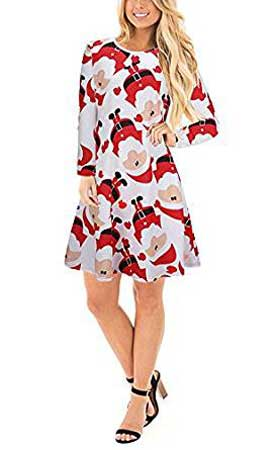 christmas party swing dress