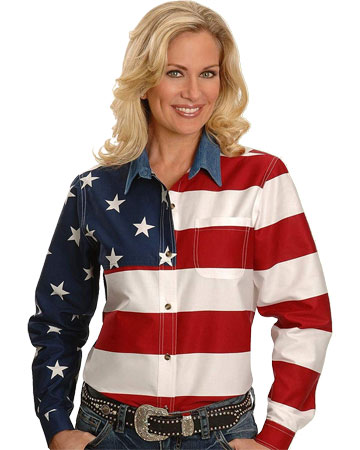 American flag long sleeve t shirt