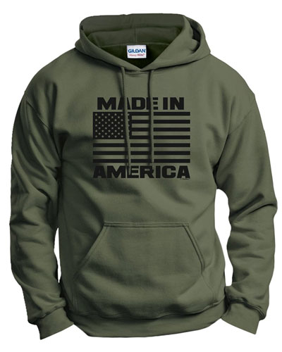 American flag sweatshirt womens