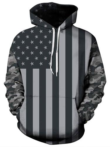Unisex American Flag Sweatshirts