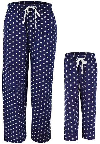 American flag star pants