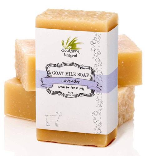 Lavender goat milk soap benefits