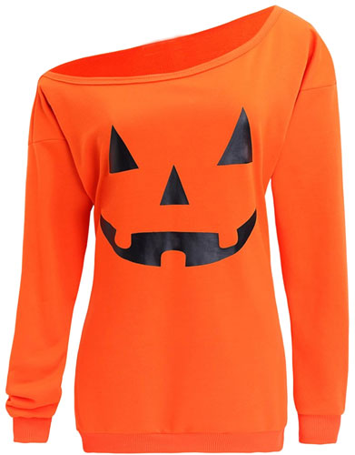Dutebare ladies pumpkin shirt
